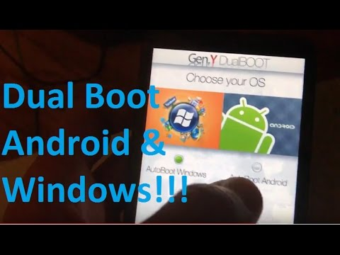 Dual Boot Android and Windows on HTC HD2