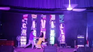 Dhakai Saree (Hrithik, Toma) at Civil Night 2016