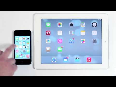iOS 7 en el iPad, Sincroniza tu info con iCloud