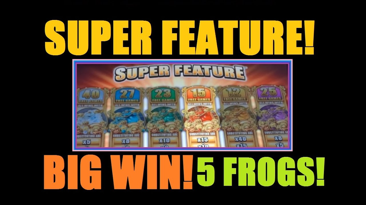free 5 frogs slot machine