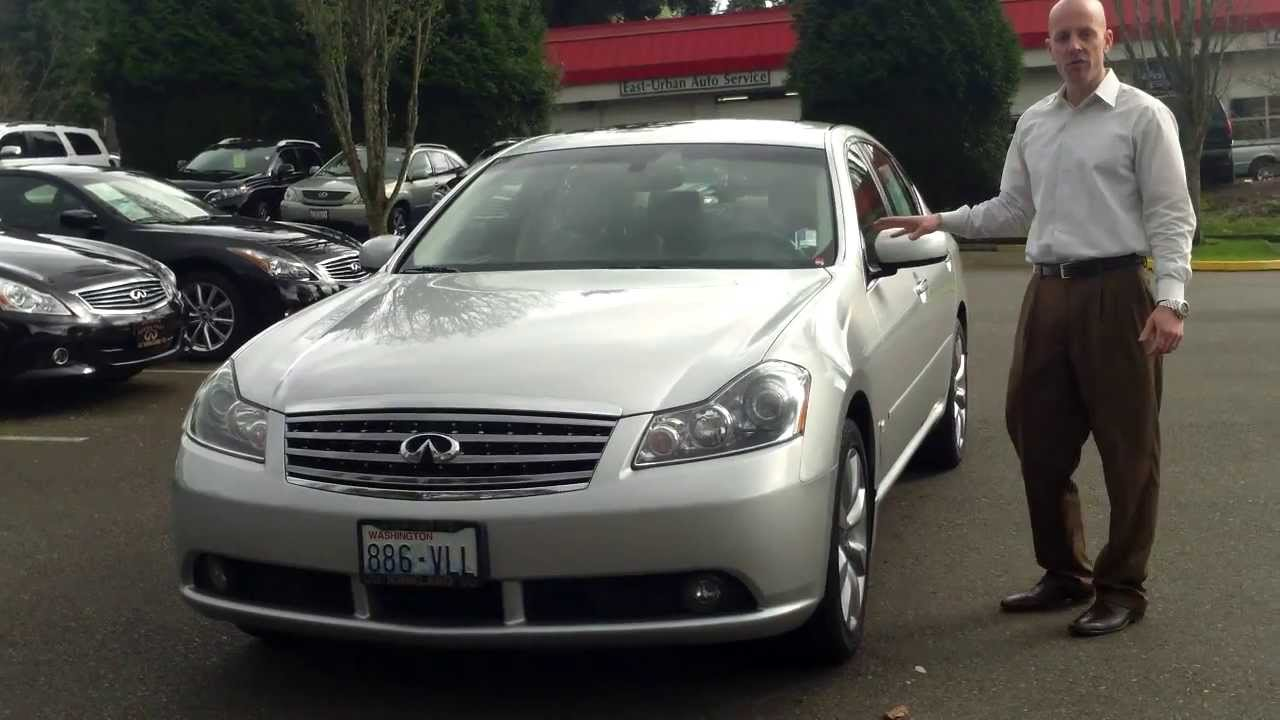 2006 infiniti m35x awd review in 3 minutes you 39 ll be an. Black Bedroom Furniture Sets. Home Design Ideas