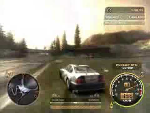 bmw m3 gtr most wanted. Need For Speed Most Wanted Final Chase With BMW M3 GTR! need for speed most