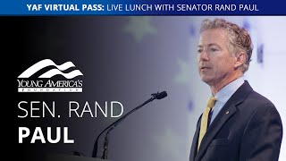 The case against socialism | Senator Rand Paul LIVE at the Reagan Ranch Roundtable