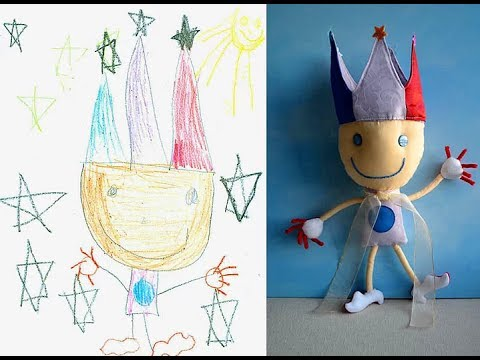 Children s drawings turned into toys - Child s Own Studio - Wendy Tsao 2014 ᴴᴰ