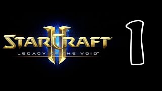 StarCraft II 2 Legacy of the Void Прохождение На Русском Часть 1 Начало Игры Задание За Айур!