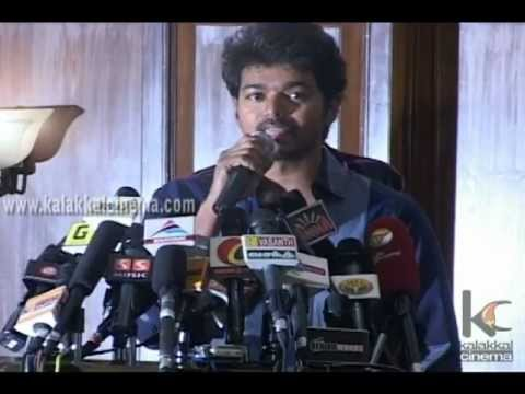 Vijay Speech At Velayudham Success Meet video