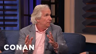 Henry Winkler Has Written 35 Books - CONAN on TBS