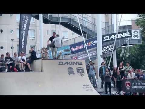 Antwerp Skate Contest 2013 - Pro Contest & Best Trick