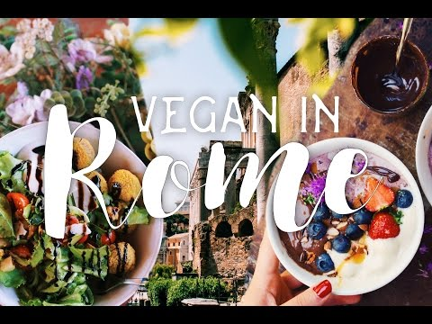 VEGAN IN ROME :: what I ate in ITALY // travel vlog (ft. much gelato)