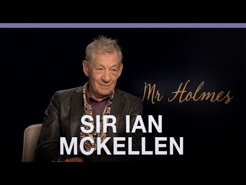 Sir Ian McKellen on Sherlock Holmes and leaving Magento behind