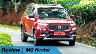 MG Hector Review - SUV With Crazy Technology | MotorBeam