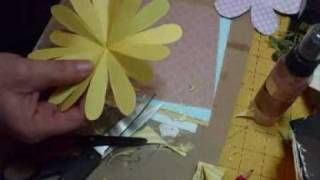 16 & 8 & 6 petal handcut flowers Tutorial - jennings644