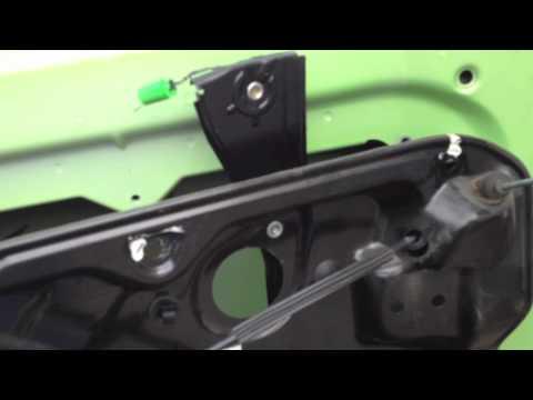 Volkswagen new beetle window regulator repair part 2 of for 1999 vw passat window regulator clips