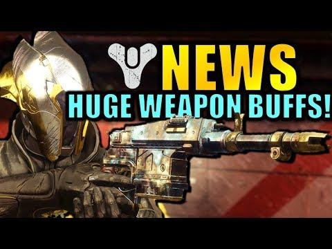 Destiny 2 News: HUGE BUFFS! - Forsaken Info! - Elemental Orbs! thumbnail