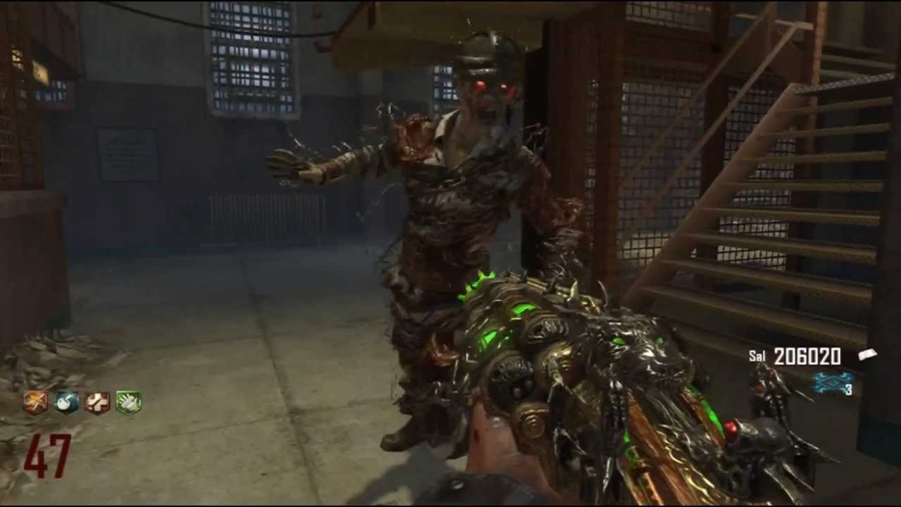 Black Ops 2 Zombies Mob Of The Dead Rounds 40 55 W
