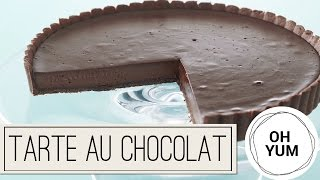 Tarte au Chocolate | Oh Yum with Anna Olson