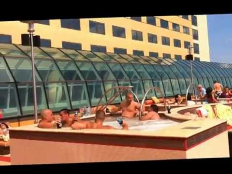 Dj wird at golden nugget pool atlantic city youtube for Pool show in atlantic city