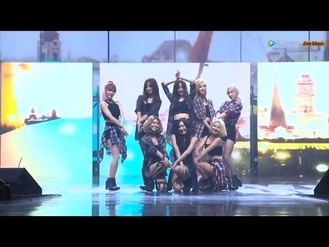 150831 [HD] SNSD-You Think+Lion Heart @ Tencent K-Pop Live Music
