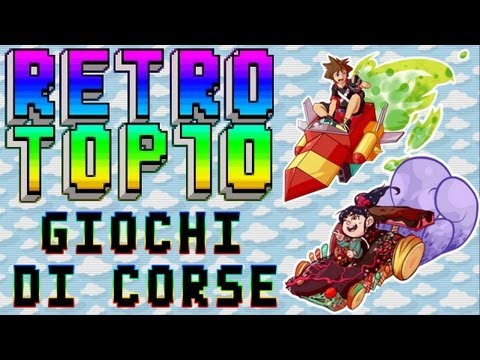 RetroTop 10 - Top 10 Giochi di corse