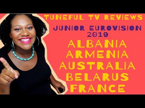 *Life Update* + JUNIOR EUROVISION 2019 - ALBANIA, ARMENIA, AUSTRALIA, BELARUS & FRANCE!!