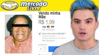 PRODUTOS BIZARROS DO MERCADO LIVRE - VENDEU A MÃE