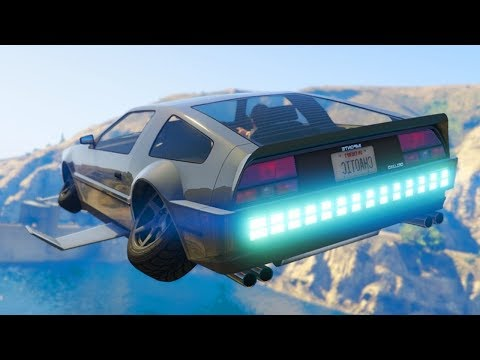 LA NOUVELLE VOITURE VOLANTE DE GTA 5 ! Stunt & Fun online