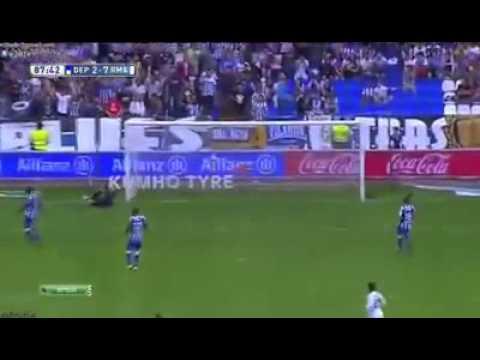 Increíble primer gol de Chicharito con el Real Madrid