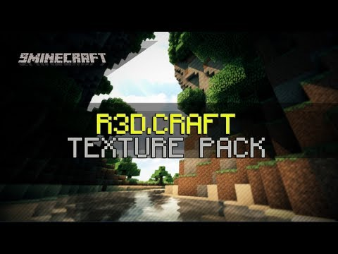 R3D.CRAFT Texture Pack for Minecraft 1.6.2/1.6.1/1.5.2