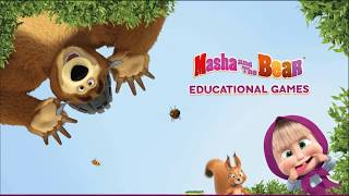 Masha and the bear game. Funny game for kids