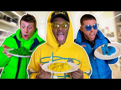 Play this video SIDEMEN EATING ONE COLOUR FOOD FOR 24 HOURS CHALLENGE