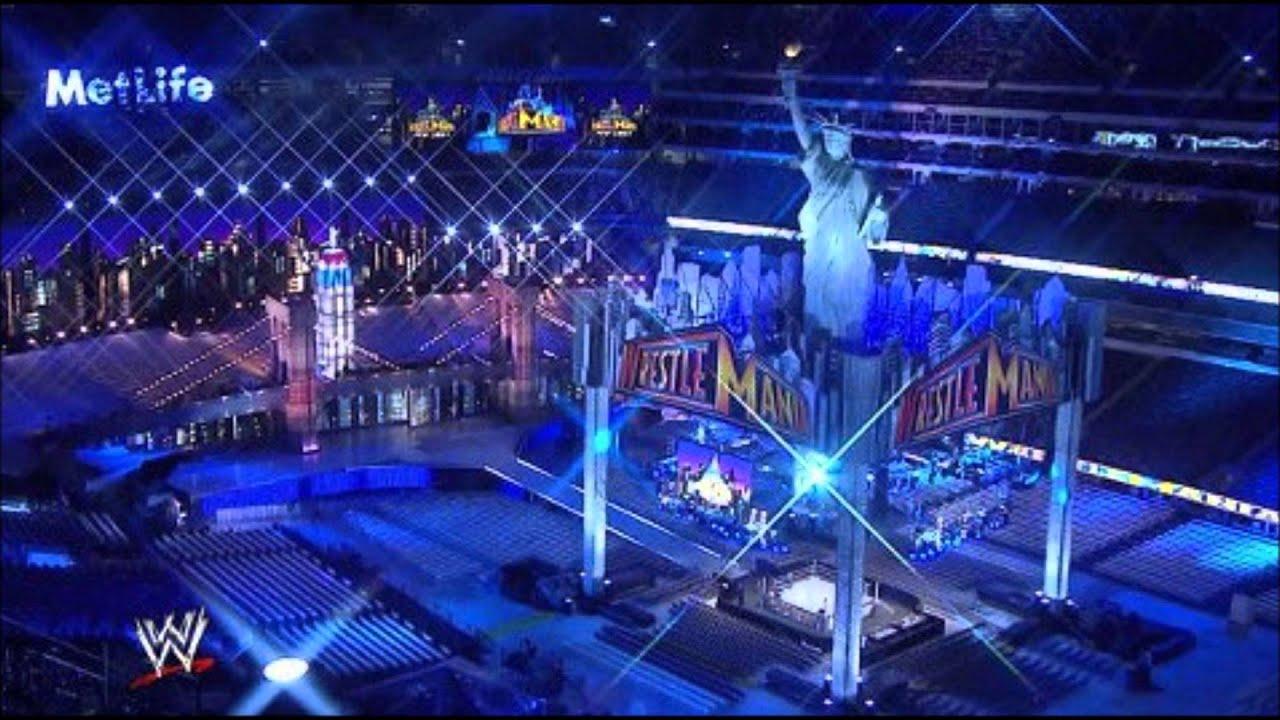 The Arena Design Of Wrestlemania 29 - YouTube Wrestlemania 29 Stage