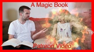 When Magic Books Don't Work Right (a Patreon video) (body swap) m2f