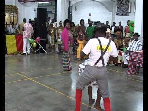 GHANA CULTURAL  DAY ANTWERPEN BELGIUM (  BOBOOBO DANCE BY FYGA ANTWERP.