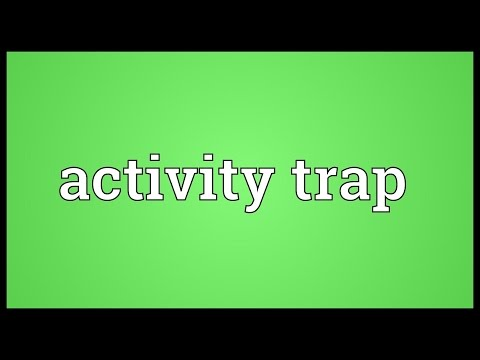 Header of Activity Trap