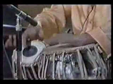 Ustad Tari Khan Tabla Solo In Roopak video