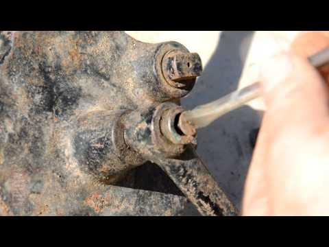 Hand sander restoration . Renovace ruční brusky