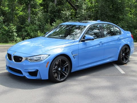 2015 BMW M3 Sedan/M4 Coupe Start Up. Exhaust. Test Drive. and In Depth Review