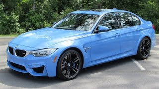 2015 BMW M3 Sedan/M4 Coupe Start Up, Exhaust, Test Drive, and In Depth Review