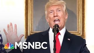 As President, Donald Trump Pokes And Prods At Scab Of Race | Morning Joe | MSNBC
