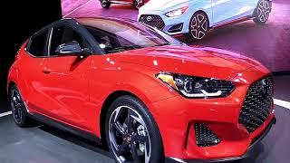 2019 Hyundai Veloster Edition Design Special First Impression Lookaround Marketed 2018