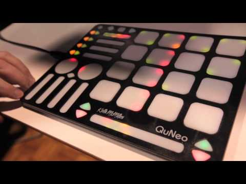 QuNeo 3D hands-on