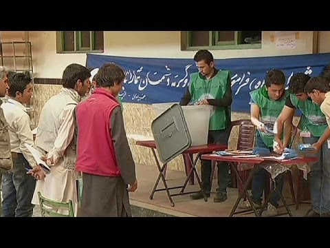 Count underway in Afghan presidential runoff