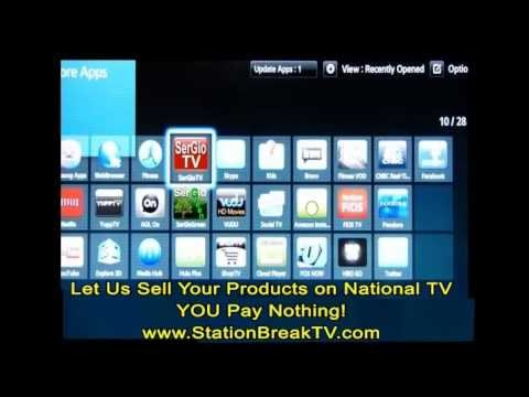how to install tv apps on any model samsung smart tv youtube