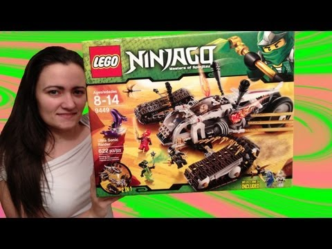 LEGO 9449 Ultra Sonic Raider LEGO Ninjago Review