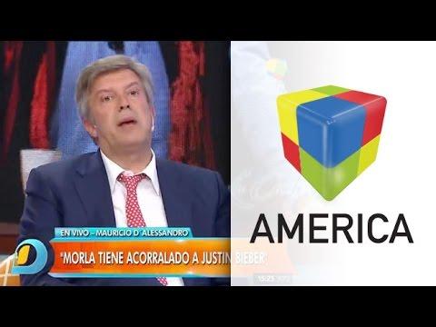 Mauricio DAlessandro: Morla tiene acorralado a Justin Bieber