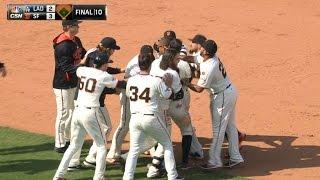4/23/15: Giants win in 10 on Maxwell's walk-off hit