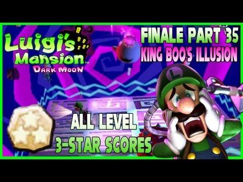 Luigi's Mansion: Dark Moon - Part 35 FINALE: King Boo's Illusion + 3-Star Score Guide