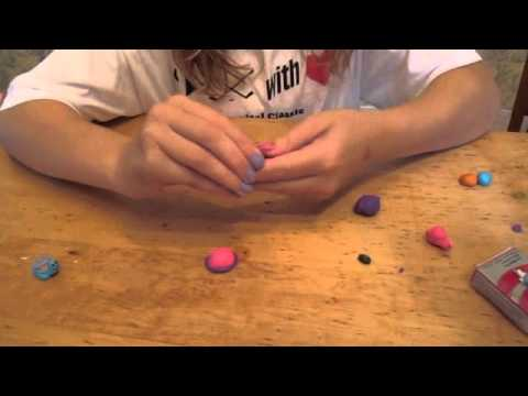 How to make Fimo clay animals - turtle