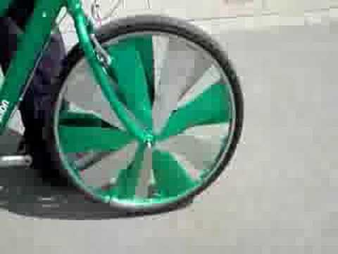 Scraper Bike Rims Spinning!!! Music Videos