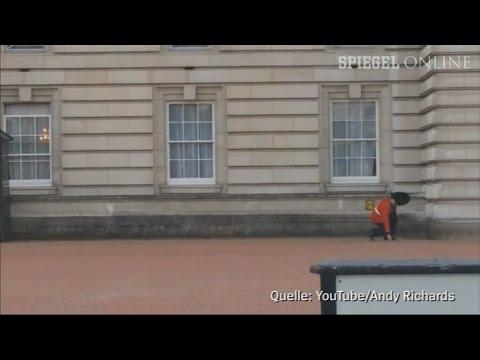 Pirouetten am Palast: Queen´s Guard tanzt im Dienst